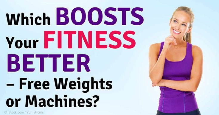 The Pros and Cons of Free Weights versus Resistance Machines http://fitness.mercola.com/sites/fitness/archive/2014/12/12/free-weights-vs-resistance-machines.aspx