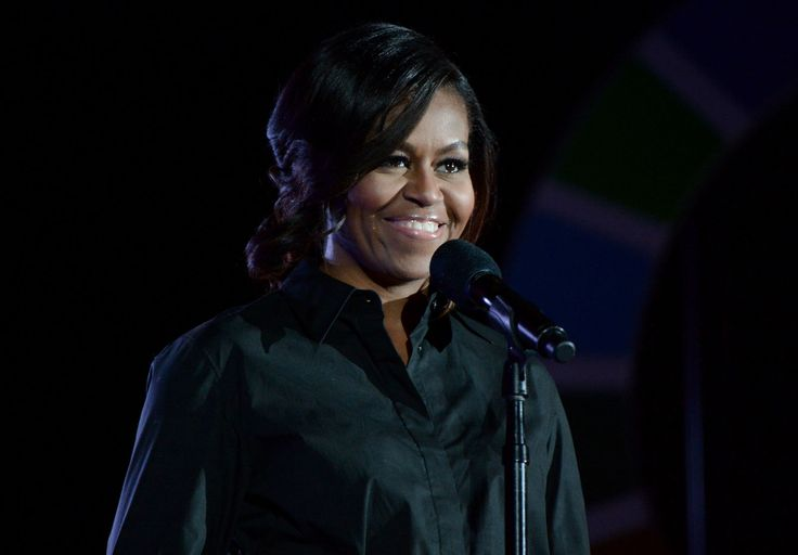 Michelle Obama Makes a Statement in All Black at the Global Citizen Festival  - ELLE.com