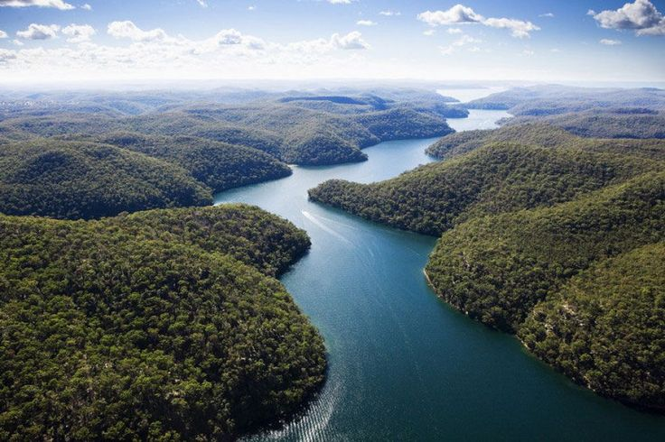Hawkesbury River, Kuring-gai Chase National Park, which starts at Sydney's northern suburbs and beaches