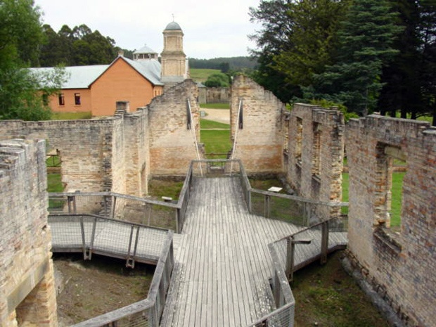 World Heritage site: Port Arthur - Australian Convict sites. These places are the best remaining examples of forced transportation and the expansion of a European power through convict labour.