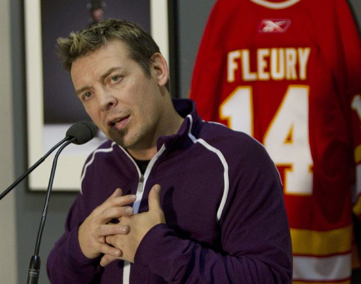 theo fleury   Theo Fleury talks sobriety, sexual abuse, healing with ...