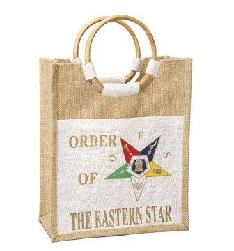eastern star doll | Order Of The Eastern Star-Bag-Mini Pocket Jute Bag - African Imports ...