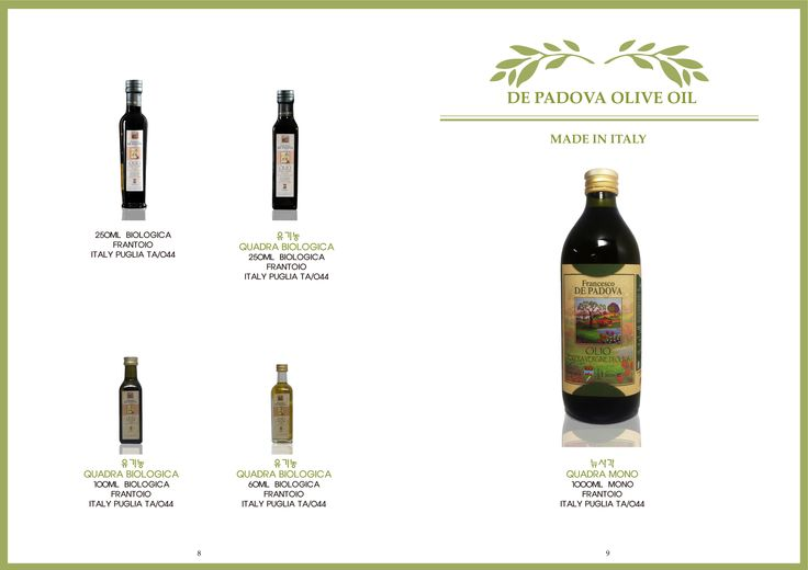 FRANCESCO DE PADOVA EXTRA VIRGIN OLIVE OIL