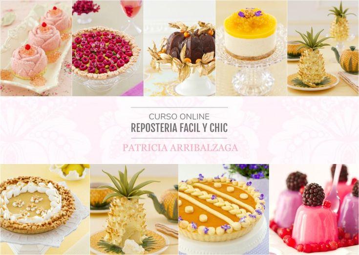 Curso Online de Repostería Fácil y Chic - Patricia Arribálzaga www.cakeshautecouture.com