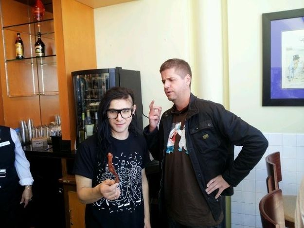 Skrillex AND Lowtax. I don't understand but I probably don't need to.
