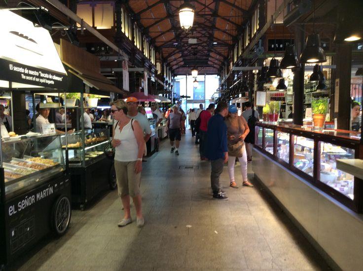 Mercado de San Miguel, Madrid, todo un mundo de sabores, mucha onda!