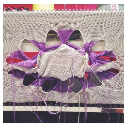 Aitana Baeza #aitanabaezaknits #oopsloops #knit #knittingmachine #knitting