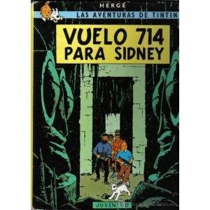 Las Aventuras de Tintin: Vuelo 714 para Sidney (Spanish Edition of Flight 714) (Hardcover)  http://postteenageliving.com/amazon.php?p=0686543483