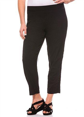 #TS Candied Pedestal Pant #plussize #curvy #takingshape