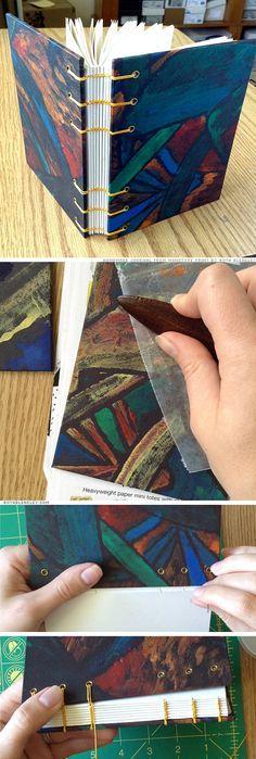 Coloré Journal peint à la main avec des par RuthBleakley sur Etsy