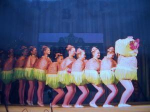 Танцевальный костюм гусеницы