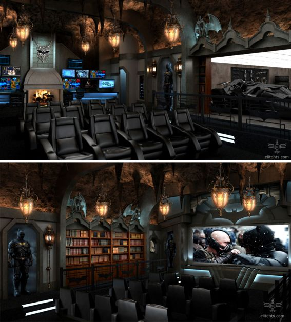 10 Awesome Man Cave Ideas - this would be Whit's DREAM!!!
