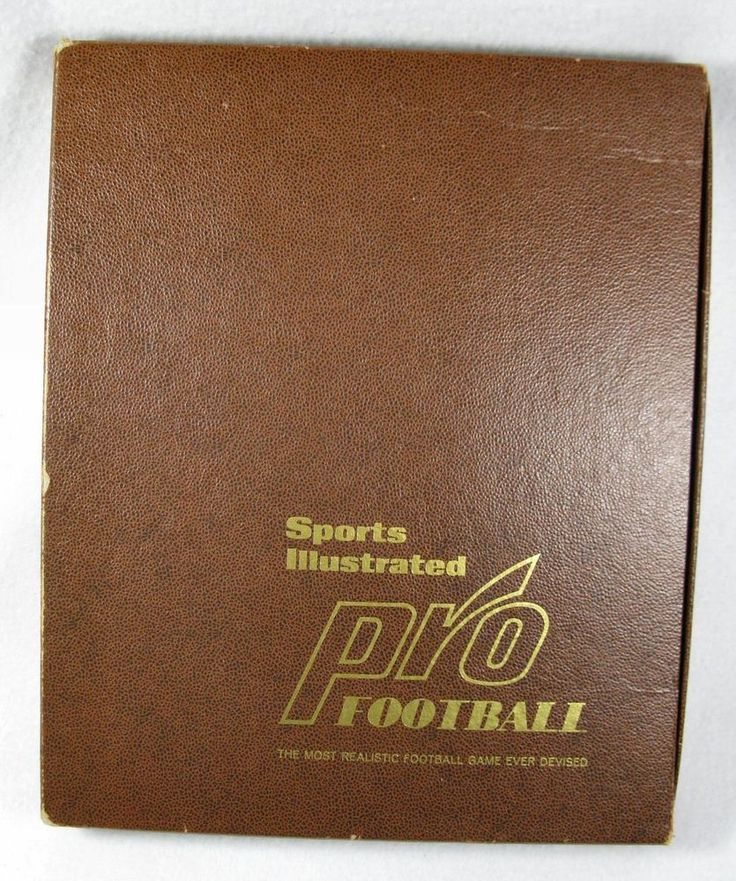 Vintage 1970 Sports Illustrated Pro Football Game  #SportsIllustratedTimeInc