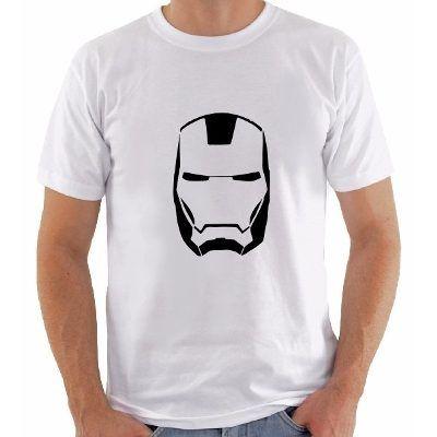 Camisetas Personagem Avengers Super Herois - R$ 19,90
