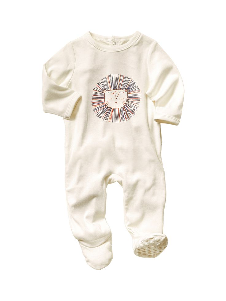 Baby's Unisex Cotton Sleepsuit, Baby 0-36 months | Vertbaudet