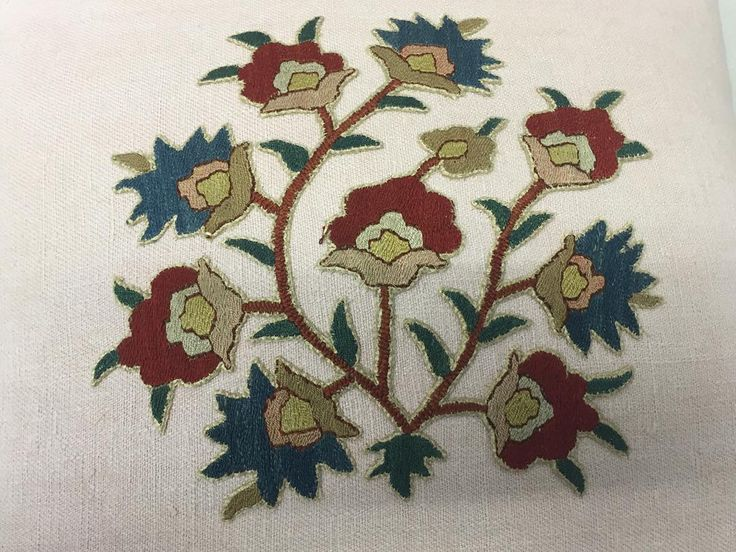 Antique Persian silk embroidery appliqué now a pillow on 1stdibs! #pillows  #textiles #galleries #antiquetextilesgalleries  @antiquetextilesgalleries  #madeintheusa #handmade  #embroidery  #antiques  #vintage  #collectables #handblocked #silk #ATG @ATG  #embroidery  #antiquetextiles  #linen  #collection  #antiquetapestry  #tapestryantiquepillow #pillows #Textilescollection #persian