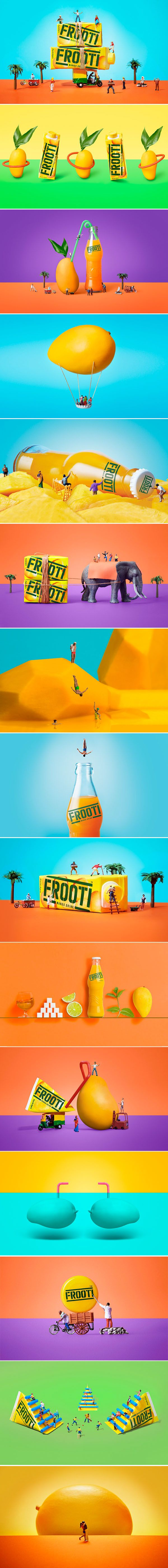 Frooti Packaging and Branding Redesign by Sagmeister & Walsh