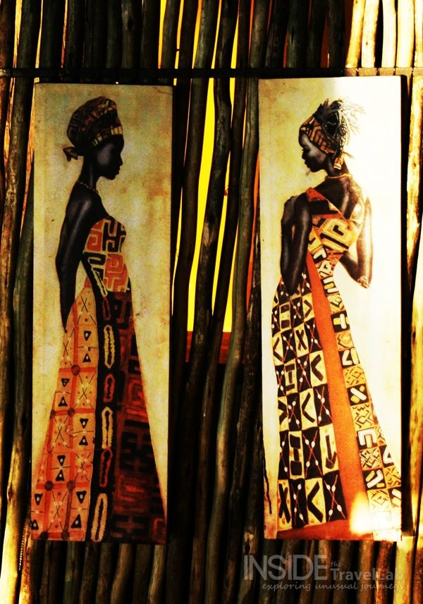 Art in Botswana - One day I will go here.  I'll let you know, we can catch up.