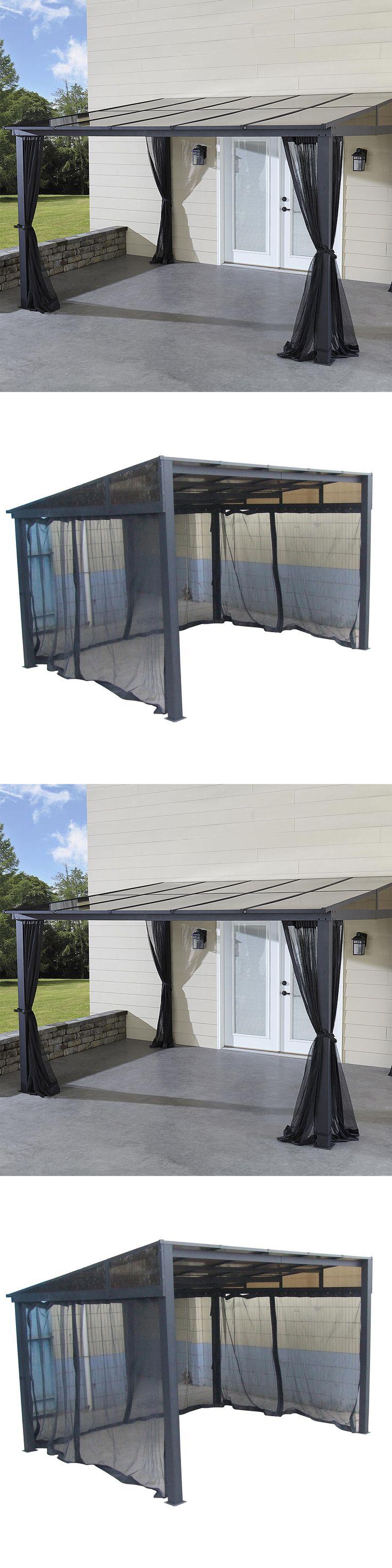 Gazebos 180995: Add-A-Room Hardtop Gazebo 10X12 Netting Resort Durable Aluminum Breezy Outdoor -> BUY IT NOW ONLY: $3606.87 on eBay!