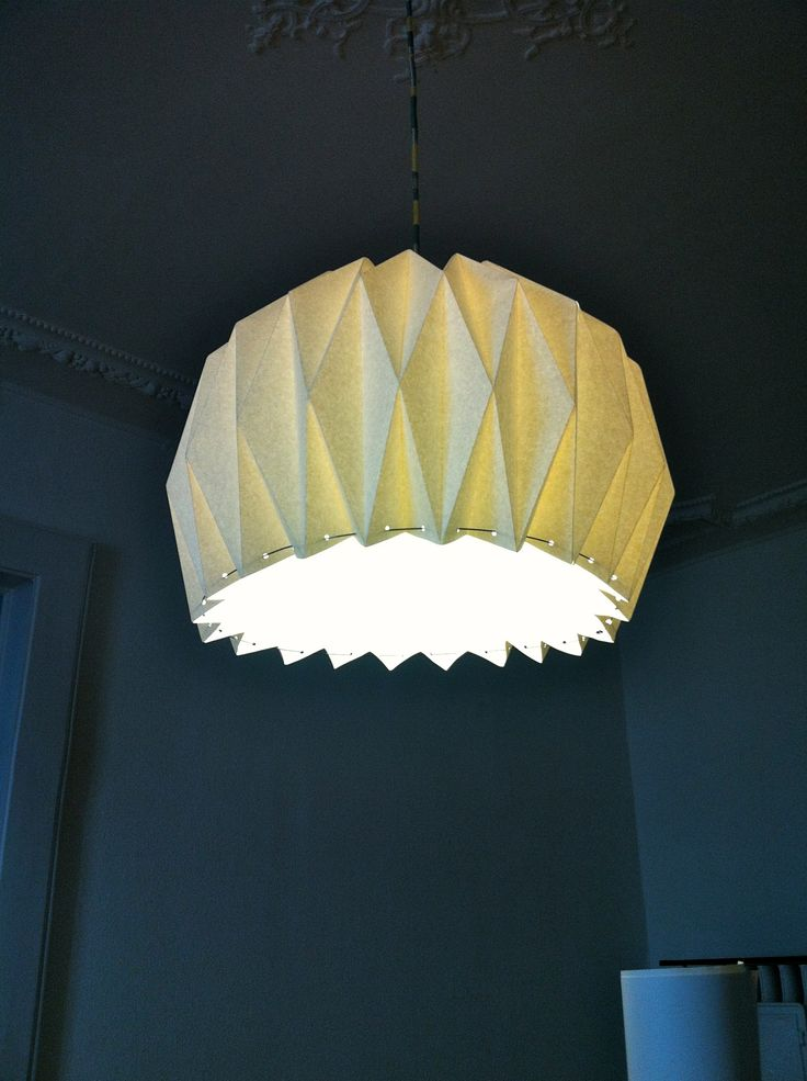 //Origami Lamp DIY//