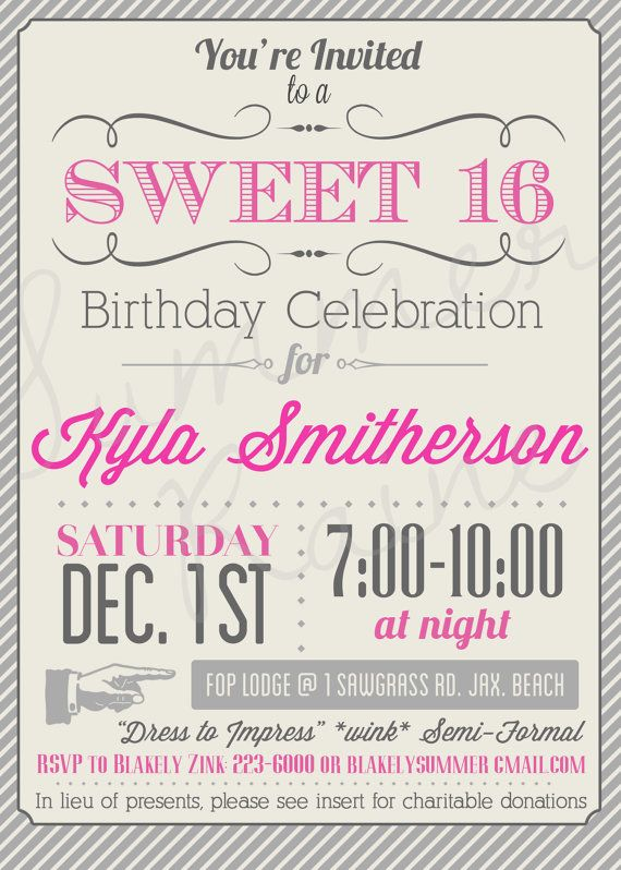 49 best Debut Sweet Sixteen images on Pinterest Birthdays, Cards - best of sample invitation letter debut party