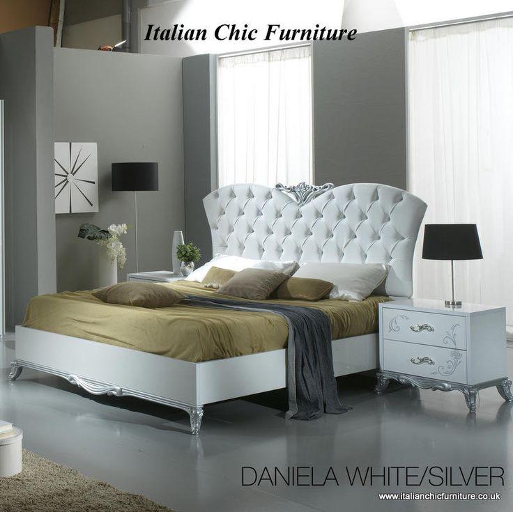 Silver Bedroom Furniture CM7979SV Silver Bedroom Furniture w