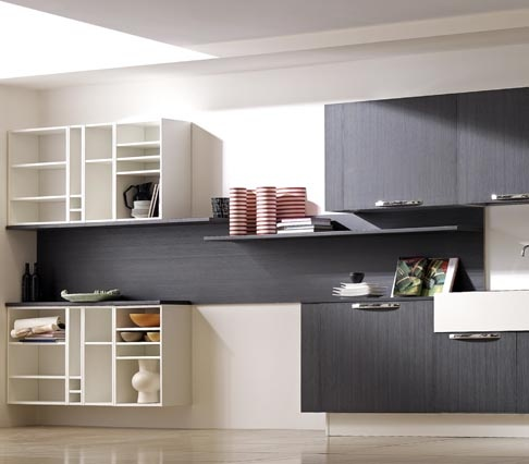 Erika is available in eight colors using handles or c-channel.