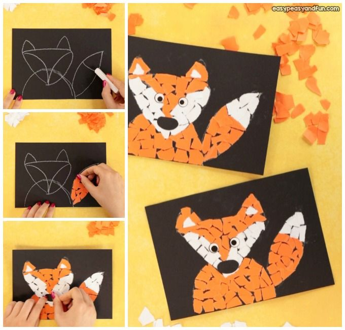 Fall Fox Art Project