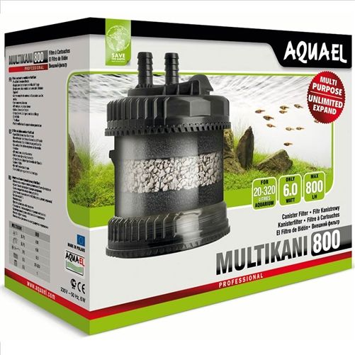 Aquael Multikani 800 Canister Filter for tanks aquariums up to 320l