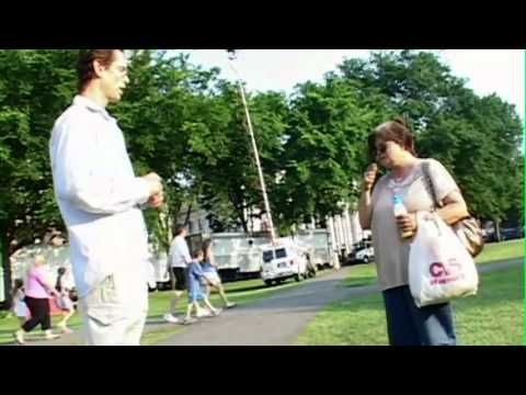 Jason Westerfield Healing Bus Fare Lady: From Finger of God - YouTube