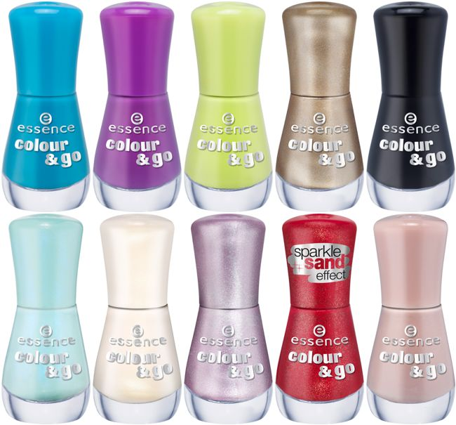 Essence Leaving Products Lente Zomer 2015 Colour & Go Nail Polish