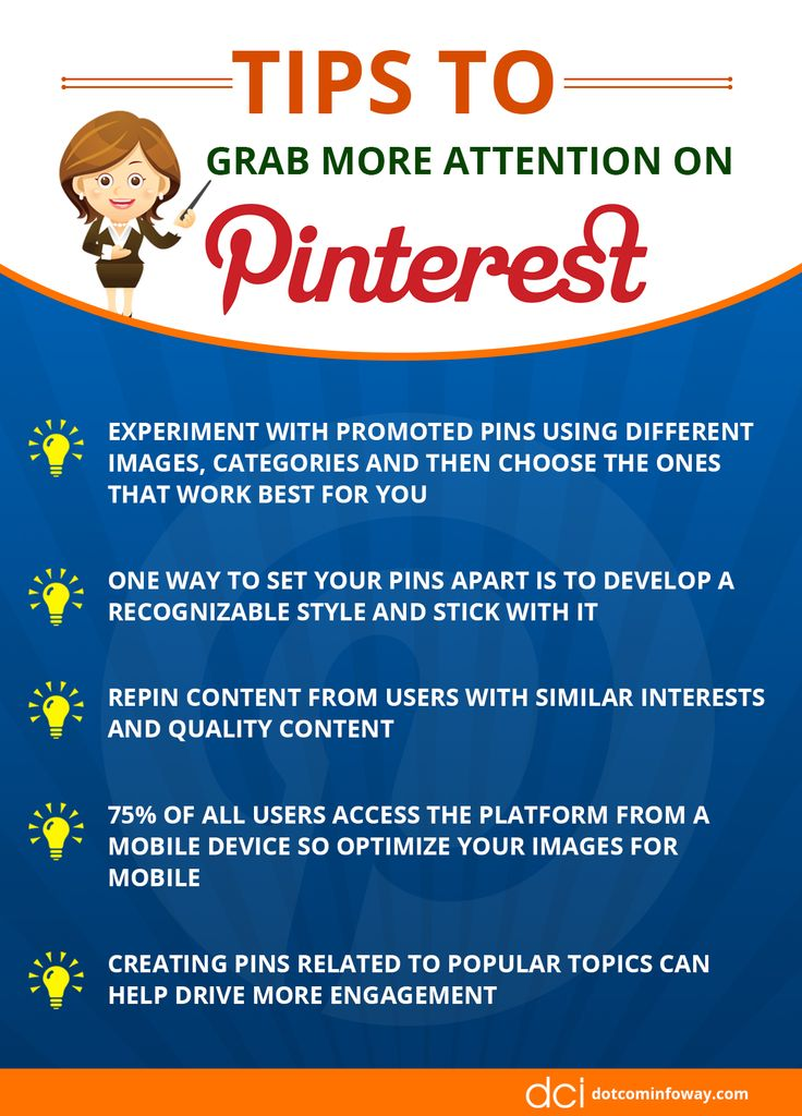 Tips To Grab More Attention on Pinterest !