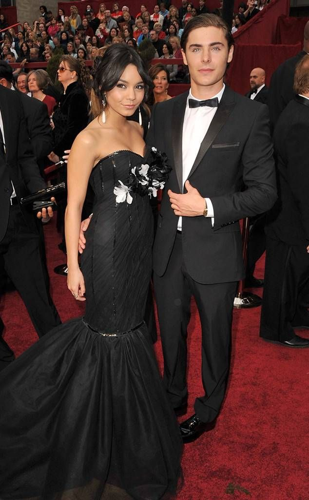 Vanessa Hudgens & Zac Efron from Throwback: Couples at the Oscars  2009