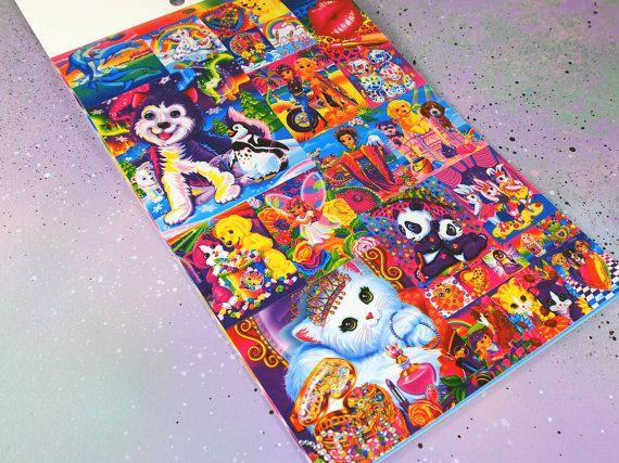 Lisa Frank Stickers Booklet // Cute Lisa Frank by VintageLoser