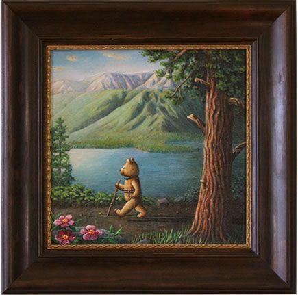 Edward bear by Rieko Woodford-Robinson