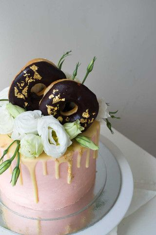 Magnificent Floral Donuts