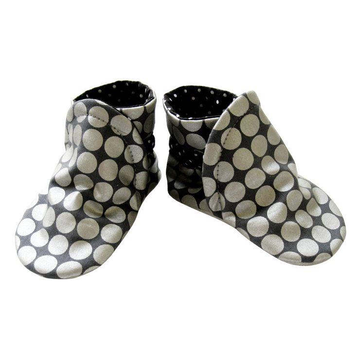 Chaussons en cuir souple, forme bottes 23/24 à 27/28, modèle Jasmine : Mode filles par dont-forget-melanie