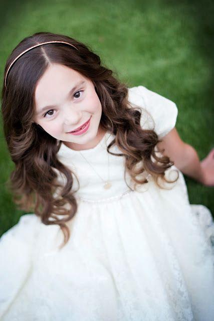LDS Baptism Photography. White Dress