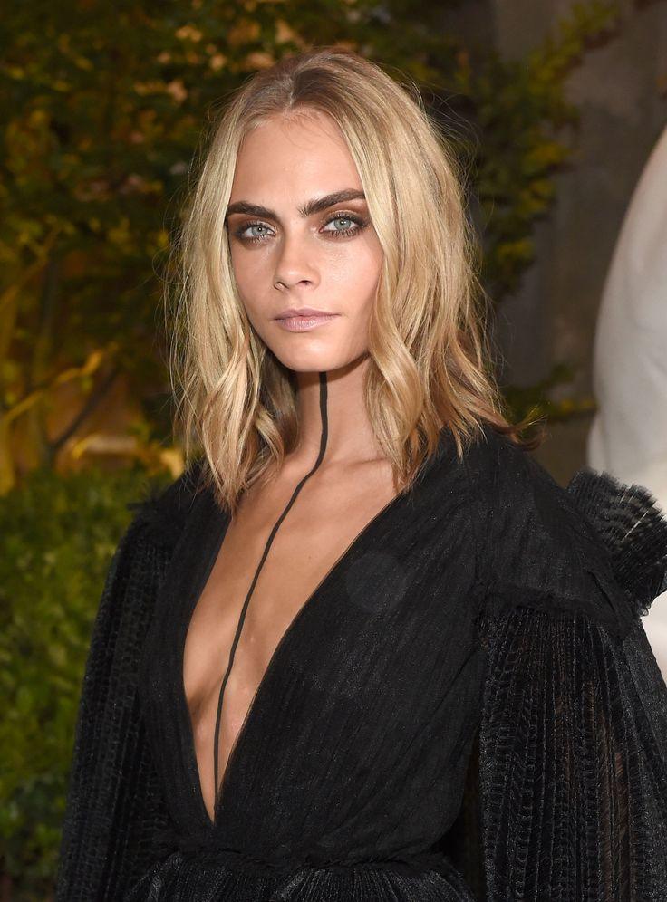 Cara Delevingne Wears Permanent Marker Body Art to London Fashion Week