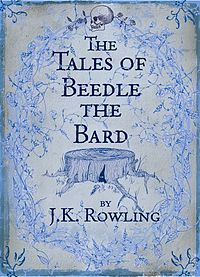 A book with magic - The Tales of Beedle the Bard by J. K. Rowling #2015ReadingChallenge