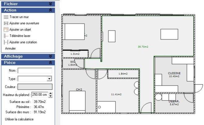 Une s lection de logiciels gratuits de conception de plan for Logiciel conception plan 3d