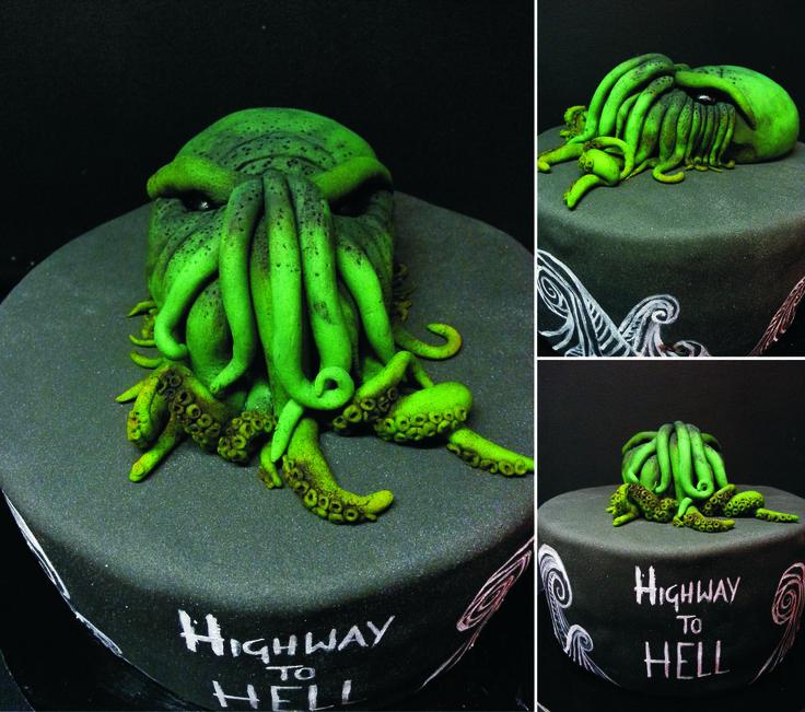CTHULHU CAKE, MEN CAKE BY PAU