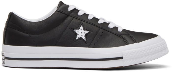Converse Black One Star OX Sneakers