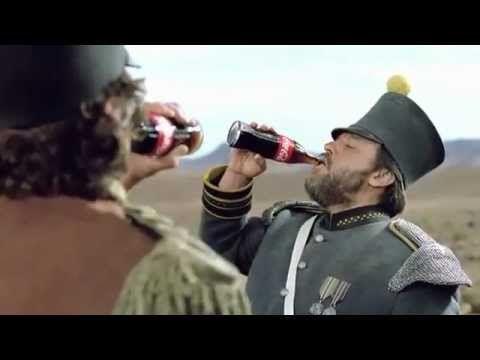 anuncio de Coca-Cola con musica extradiegetica y tambien clasica