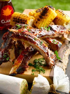 Stick Maple Syrup Ribs