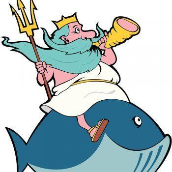 Cuento o leyenda de la mitología griega para niños. Poseidón es el dios de los mares en la mitología griega. Descubre su historia de cómo se enfada con los humanos cada vez que ensucian o contaminan el mar, el lugar donde él vive.