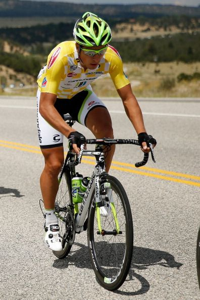 Peter Sagan wears the yellow leaders jersey stage 2 USA Pro Cycling Challenge 2013