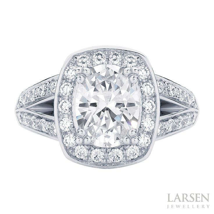 First look! Our stunning new design, the very glamorous and extra sparkly 'Diamond Sky'. We love her. Custom made to order, to suit a wide range of budgets. Enquire now at: larsenjewellery.com.au/contact. #larsenjewellery #engagementring #sydneyjewellery #melbournejewellery #glam #diamond #rings