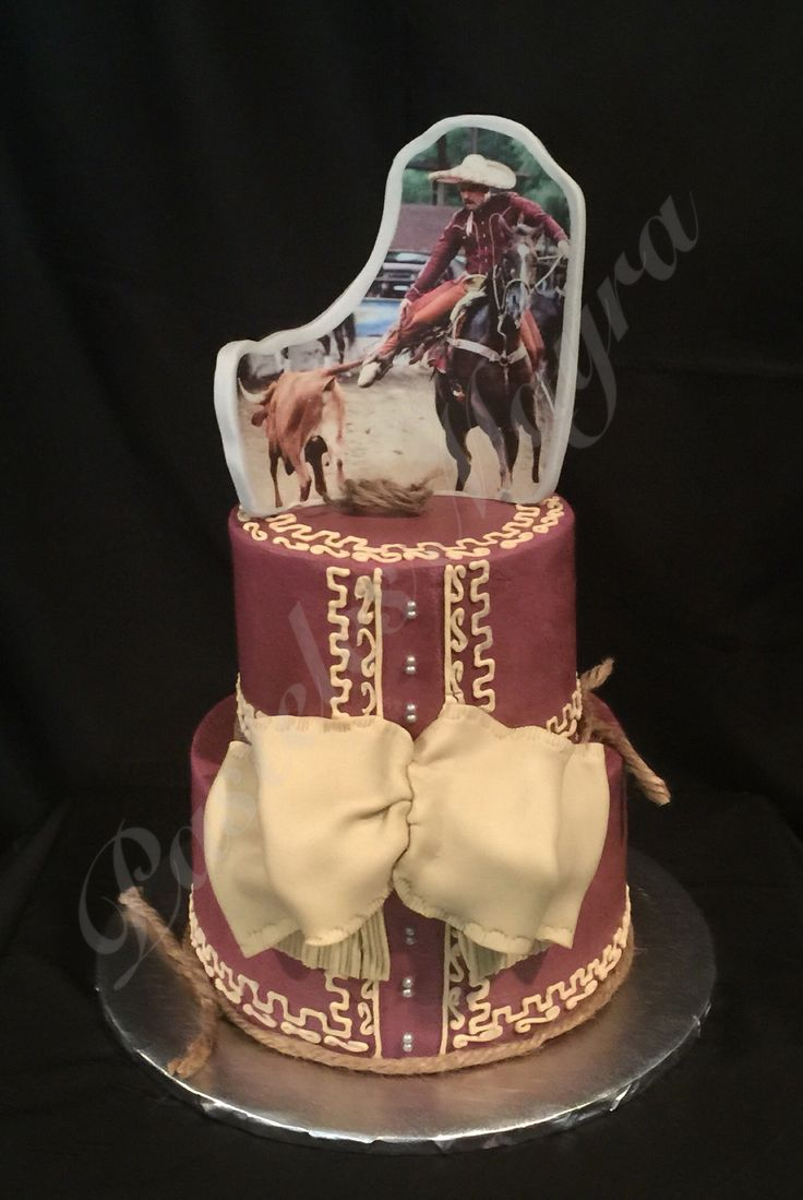 Charro Cake Pasteles Mayra Now The Cake Fairy In 2019