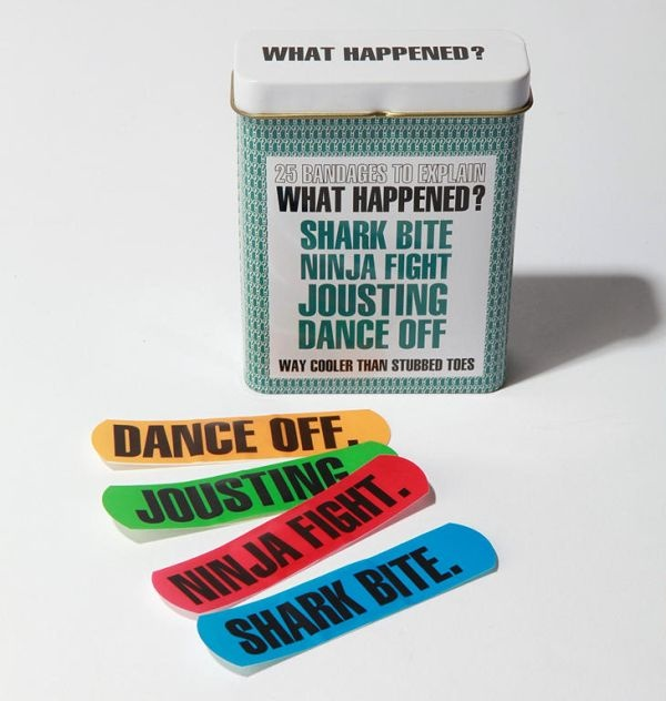 I think you could write on them yourself for a perfect white elephant!